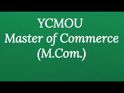 Open university M.com | YCMOU M.com admission process |