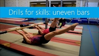 Drills for Skills: Uneven Bars! » Strength, core, candles, planks