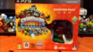 Skylanders Giants Booster Pack Unboxing PS3 TheIchibanproduction