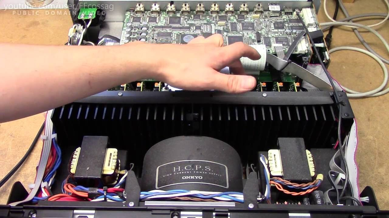 Onkyo TX-NR5007 no sound repair (BGA reflow, reinforcement & heatsinking)