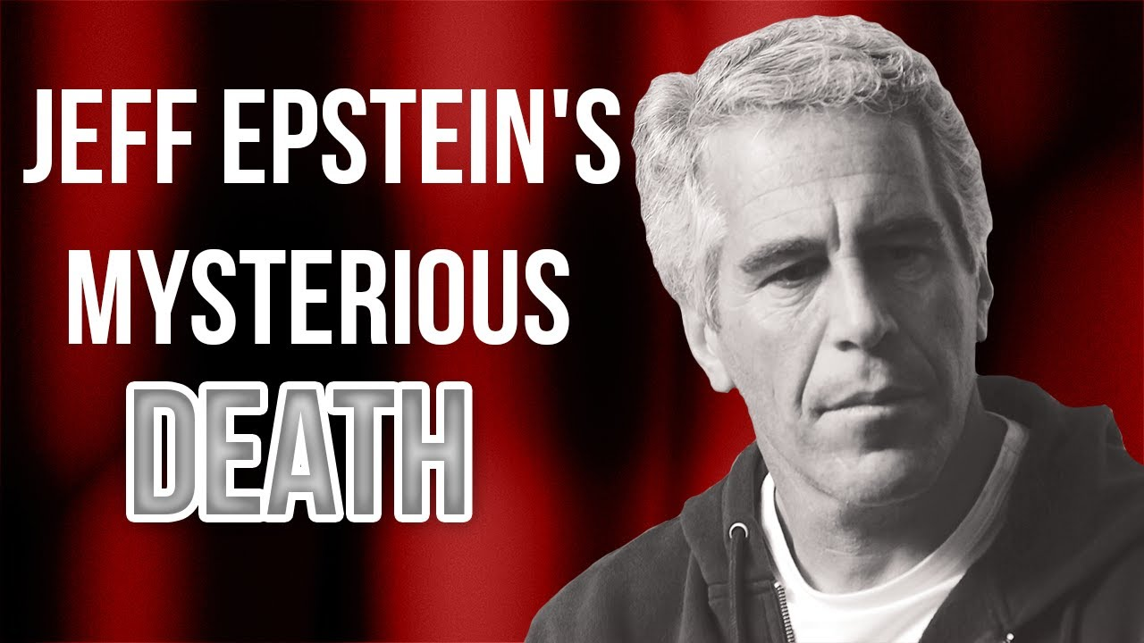 Judicial Watch What Really Happened in Jeffery Epstein's Prison Cell? DOJ Should Answer for His