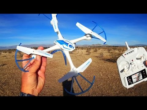 Tarantula Spider 1505 Drone Flight Test Review