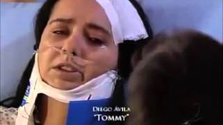 """Claudia Ortega en La Rosa de Guadalupe """"Papa Payaso"""""""