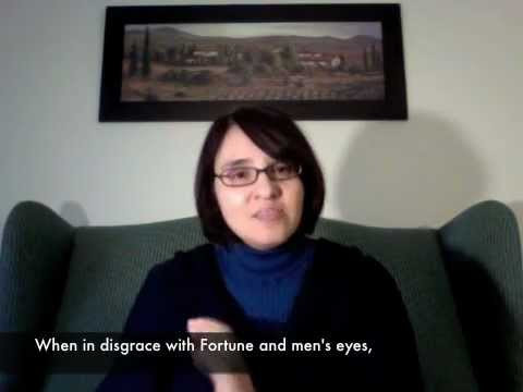 Sonnet 29 - When in disgrace with Fortune and men's eyes