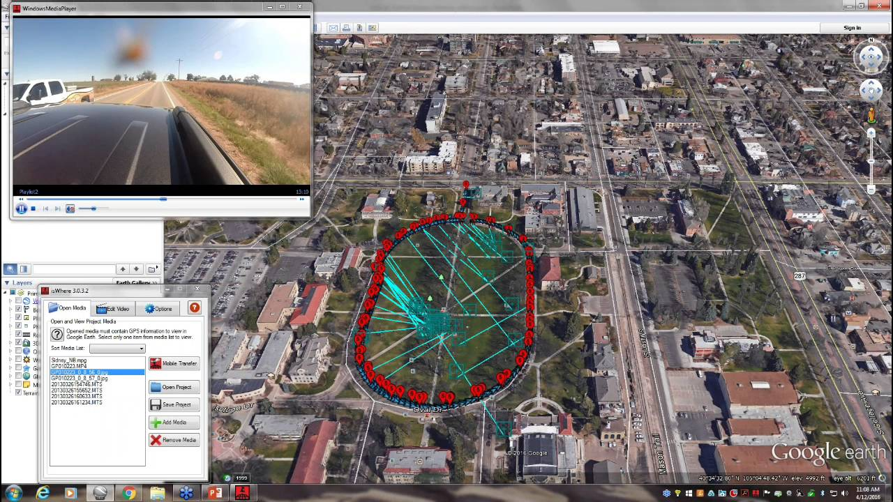 How to map geotagged videos and photos in Google Earth ...