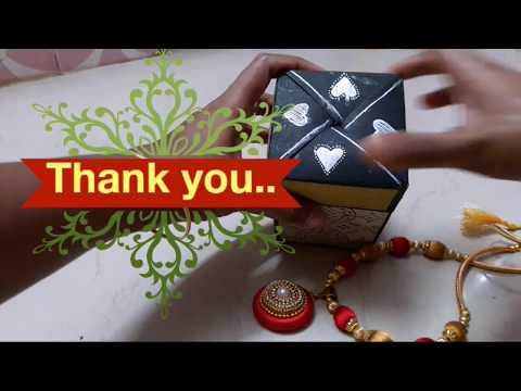 Pull Up Gift Box |DIY Crafts-by Shobana