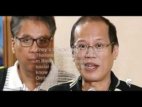 What does Binay Know About Pnoy's Marcos Gold Shipment to Thailand?