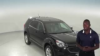 A96714NC - Used, 2017, Chevrolet Equinox, LS, Black, SUV, Test Drive, Review, For Sale -