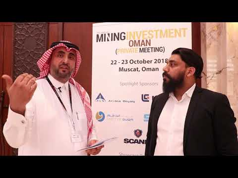 Interview with Abdulaziz Al Zahrani from ALS Arabia at Mining Investment Oman