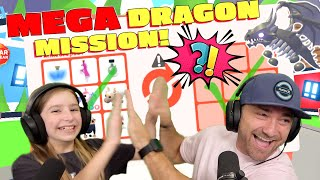 New Dragon Mega Mission!! Something Awesome Happens! Roblox Adopt Me!