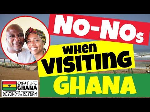 Ghanaian Culture (Ghana Dos & Don'ts) Things you don't do in Ghana