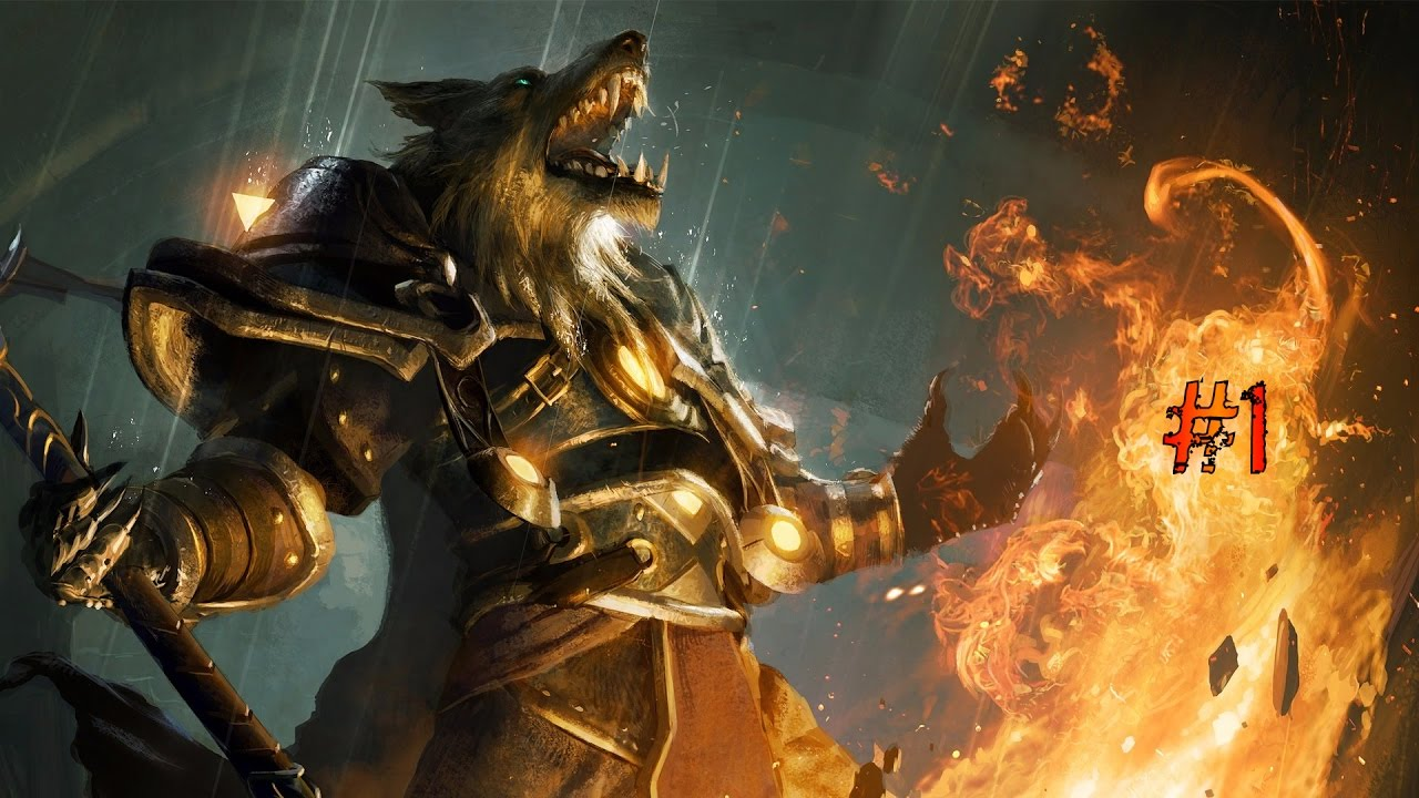 World of Warcraft - Gameplay ITA - Let's Play #1 - Alleanza - Worgen Warlock