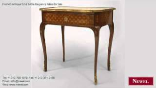 French Antique End Table Regence Tables For Sale