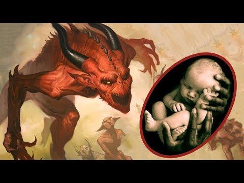Şeytan Yeni Doğan Bebeğe Bakın Ne Söylüyor ? Bebekler Bu Yüzden Ağlıyor.
