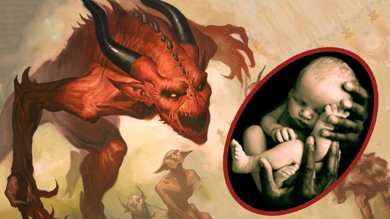 Şeytan Yeni Doğan Bebeğe Bakın Ne Söylüyor ?