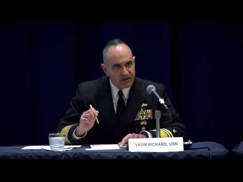 STRATCOM: 4-5-17. U.S. & British Vice Admirals Discuss The Future of Nuclear Deterrence