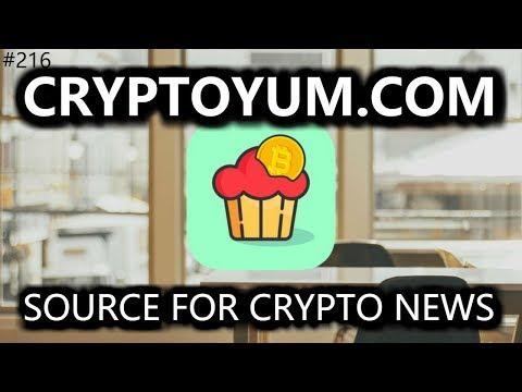 CryptoYum. Source for Crypto News - Daily Deals: #216
