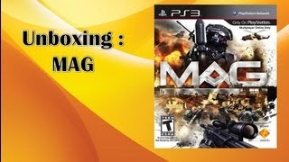 unboxing mag ps3 pt br