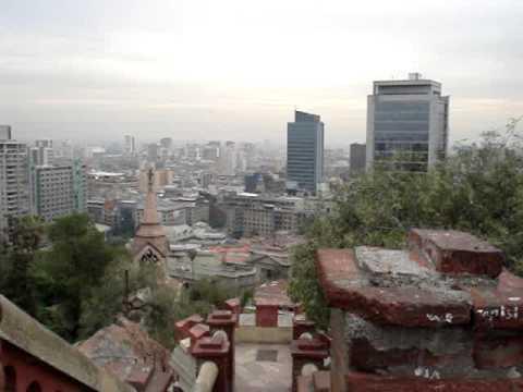 Santiago fra Santa Lucia Hill.MPG
