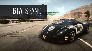 Need For Speed Rivals автомобили из фильма
