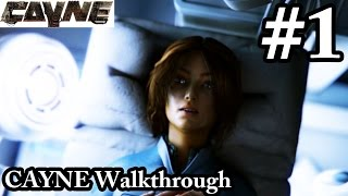 CAYNE Walkthrough Part 1 - Pregnant Hadley - Let's Play Gameplay