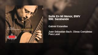 Suite En Mi Menor, BWV 996: Sarabande