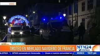 Al menos dos muertos y 11 heridos por tiroteo en Estrasburgo, Francia