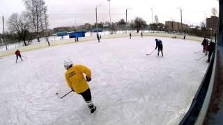 Зимняя классика  Выборг хоккей 2 часть