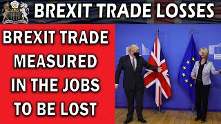 Brexit Trade Losses In Terms of Jobs