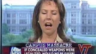 Dr Suzanna Hupp on Virginia Tech