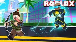 NEUE SUPER HERO IN DER STADT VON ROBLOX!! (Mad City Iron Man)