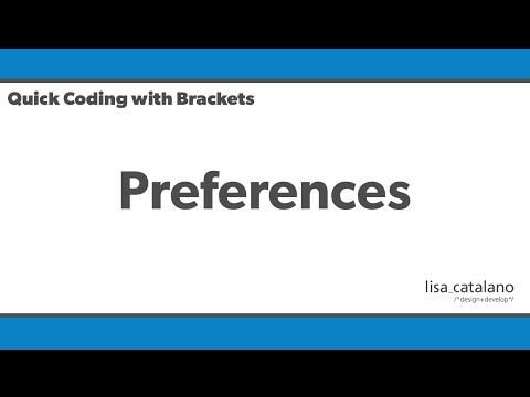 Quick Coding With Brackets - Preferences