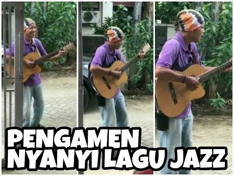 Pengamen Indonesia Nyanyi Lagu Jazz Dengan Vokal & Skill Luar Biasa!!!