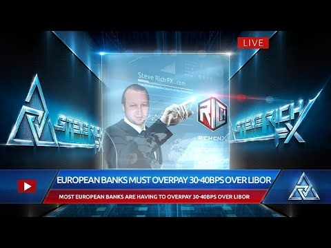 Steve Rich FX – European Banks Must Overpay 30-40bps Over Libor