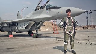 Meet Poland's First Female MiG-29 Fighter Pilot