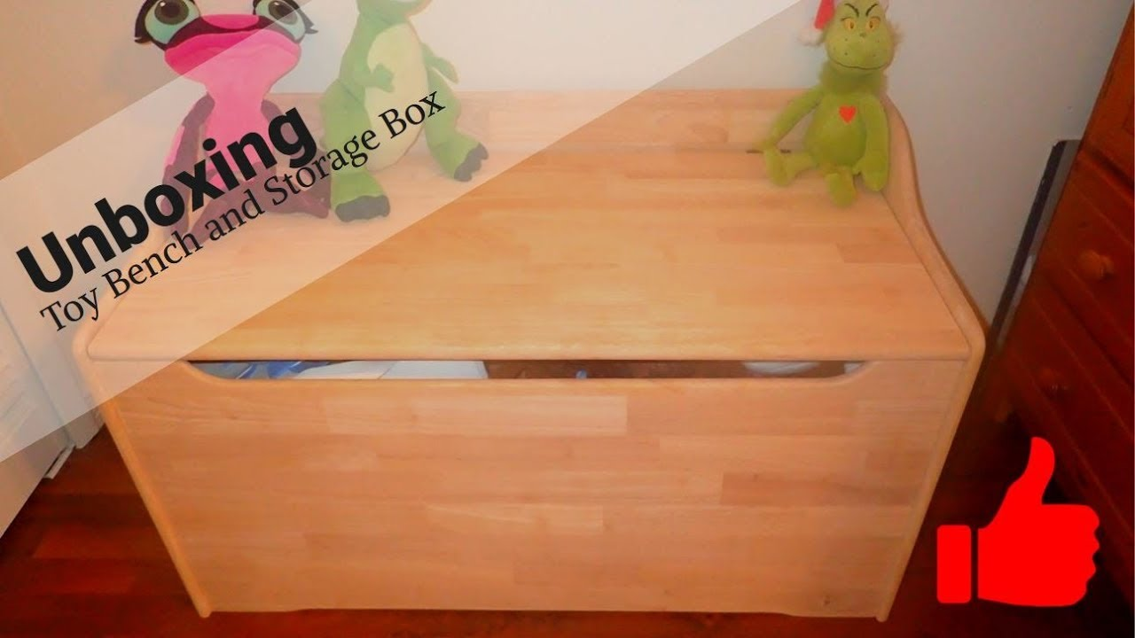 Unboxing Toy Box | Storage Chest | International Concepts Unfinished Trunk