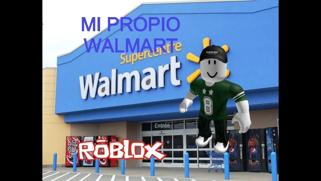 Mi propio Walmart - ROBLOX