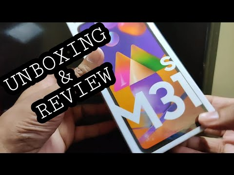 Samsung Galaxy M31s Unboxing & Review | 6/128 GB | Mirage Blue