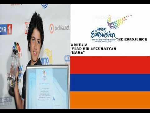 Vladimir Arzumanyan Mama Jesc 2010 Armenia