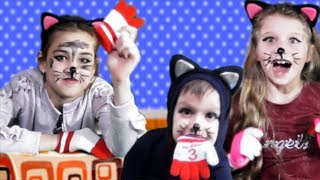 The Three Little Kittens Nursery Rhyme song for kids and babies by Princess Sonya