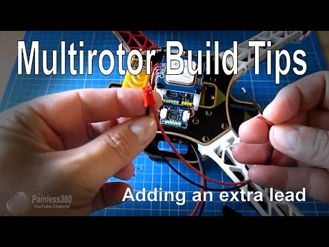 Multirotor build tip: Extra power socket