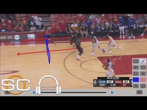 Tim Legler breaks down film of mistakes Rockets made in Game 7 vs. Warriors | SC with SVP | ESPN