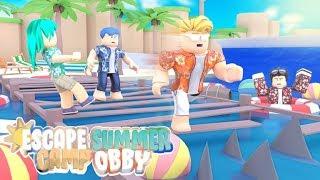 ESCAPE ROBLOX SUMMER CAMP!!!!