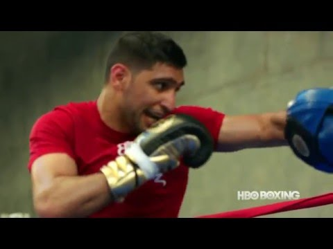 Amir Khan Official Ring Walk