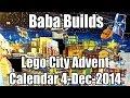 Baba Builds Lego City Advent Calendar 2014 (60063) Dec 4
