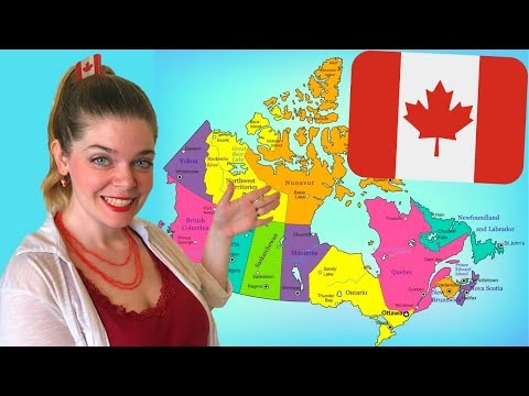 What are Canada's Provinces and Territories?: Names of Canadian Provinces, Territories, and Cities!