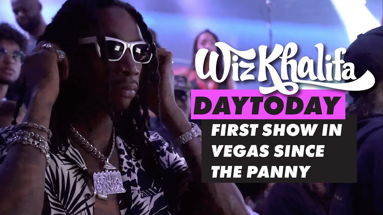 Download Wiz Khalifa - DayToday - First show in Vegas since the Panny
