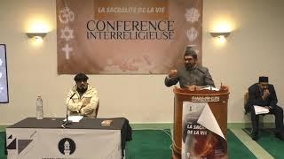 Conférence Inter Religieuse 2018   Intervention de Naseer Ahmad Shahid