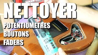 Nettoyer un potard qui crache (bouton de volume, potentiomètre) - POWER CORDE thumbnail