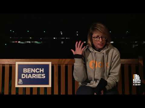 Marina Trusa's Bench Diary from the 2017 Vinnies CEO Sleepout